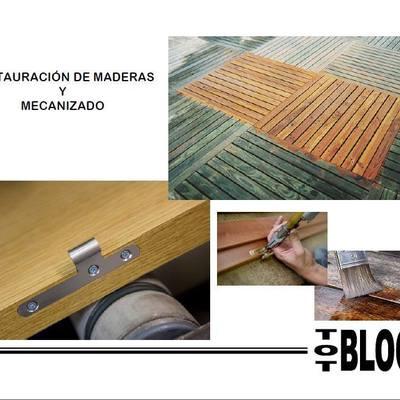 Restauración de madera y mecanizado