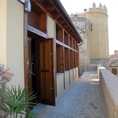 Restauración de Puerta de San Andrés y edificio municipal
