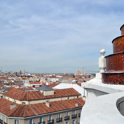 Restauración minarete en calle Génova, Madrid