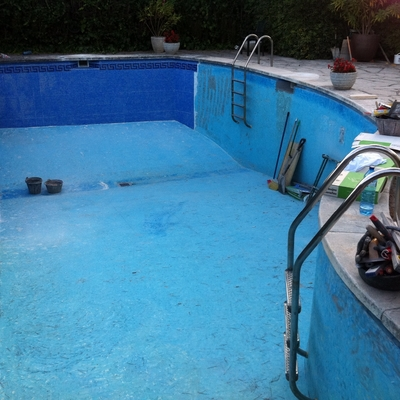 Restauracion piscina.