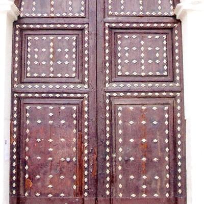 Restauración puerta de iglesia
