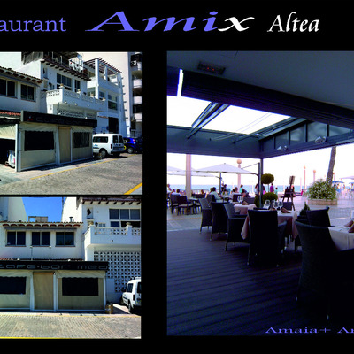 Restaurante Amix en Altea, Alicante.