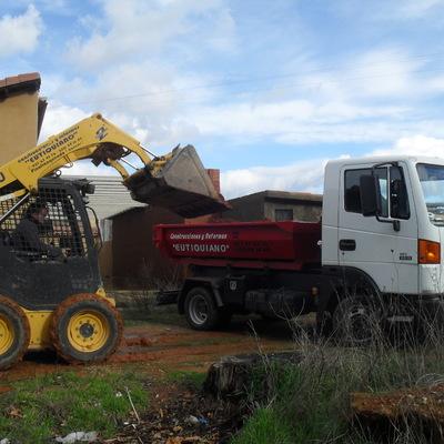 retirada de escombros y alquiler de contenedores