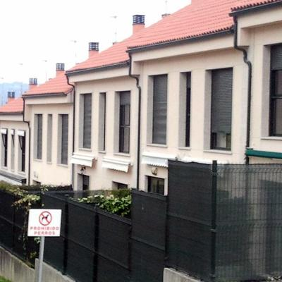 revestimiento con monocapa urbanizacion de chalet en Ourense