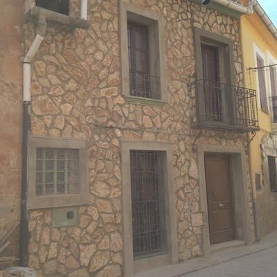 Revestimiento fachada rustica