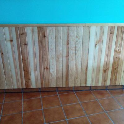 Arrimadero de madera