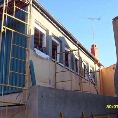 revestimiento y cubrir terraza