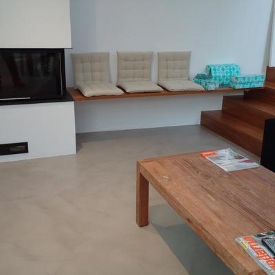 revestimientos cementosos en suelos de salones