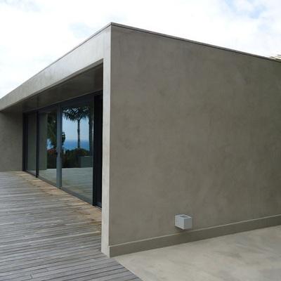 revestimientos cementosos en suelos y paredes de exterior