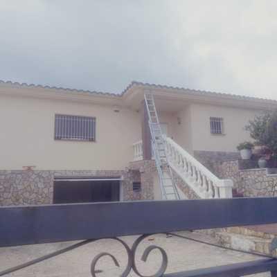 Pintar exterior casa Antes