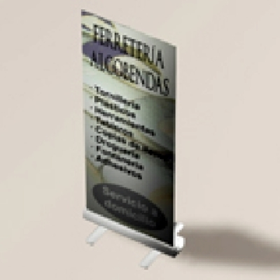 Roll-up expositor enrrollable