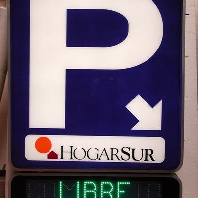Rótulos Talaverón - Parking