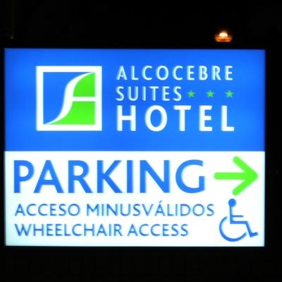 Rótulos Talaverón  - Señalización Parking