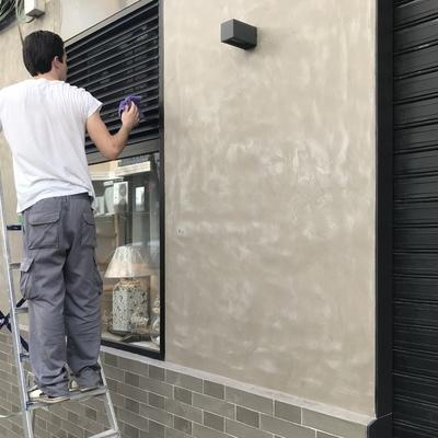 Limpieza rótulos y persianas
