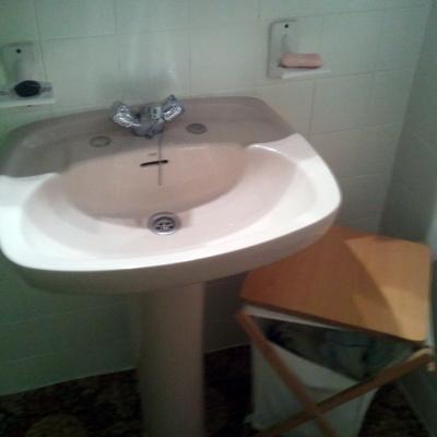 rotura de lavabo