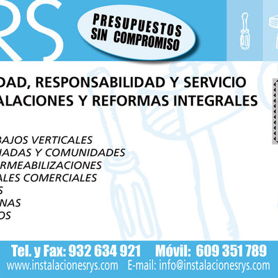 Rs InstalacioneS y ReformaS IntegRaleS...