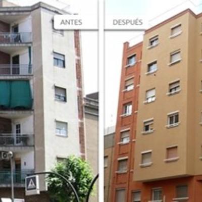 Rehabilitación de fachadas en Barceloa