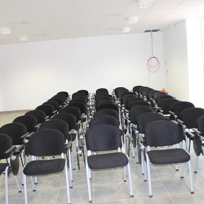 Sala de conferencias planta residuos