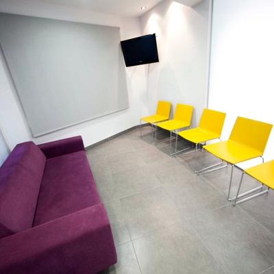 Sala de espera Clínica Nuria Vila