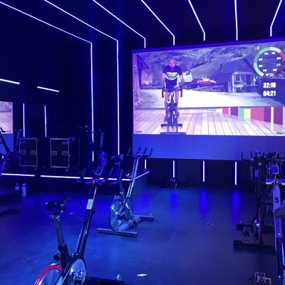 Sala de Spinning Virtual