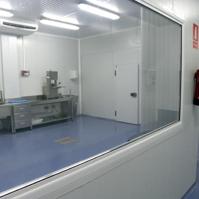Sala refrigerada.