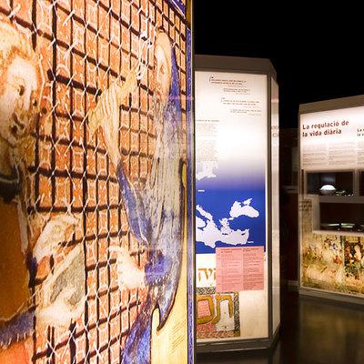Exposición temporal en el espacio del Muhba en el Call de Barcelona