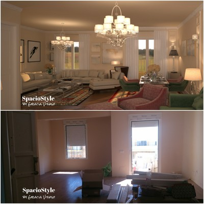 Interiorismo Integral: reforma de vivienda. Salón