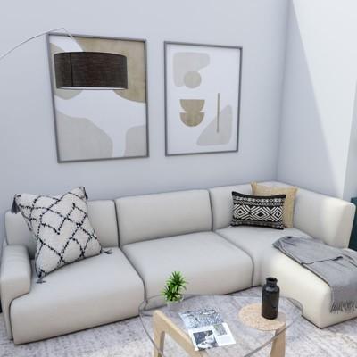 Render salón proyecto Aluche