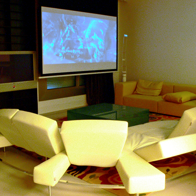 Salon con Home cinema incluido