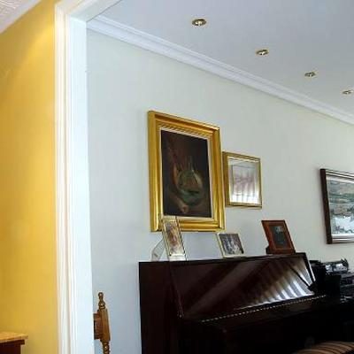 Salón Moldura Y Pintura Plastica