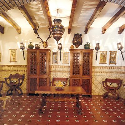 Salón rustico