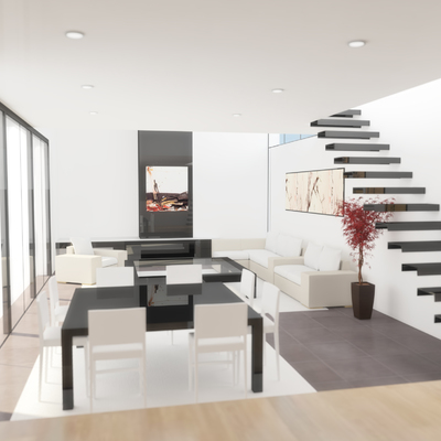 Interior Proyecto La Barrosa