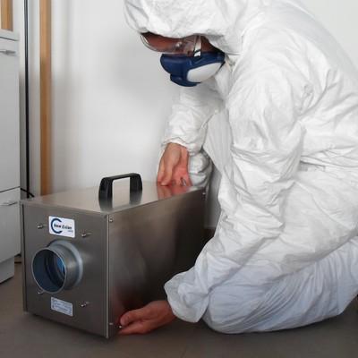 Tratamiento Desodorizador con OZONO