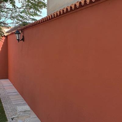 Pintura exterior , después