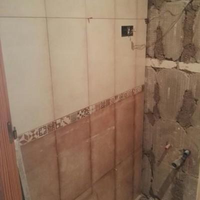 Instalación de Azulejos en baño