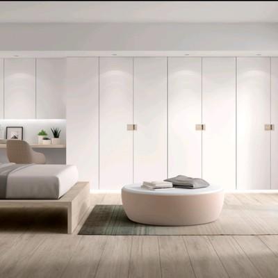 armario,escritorio y cama