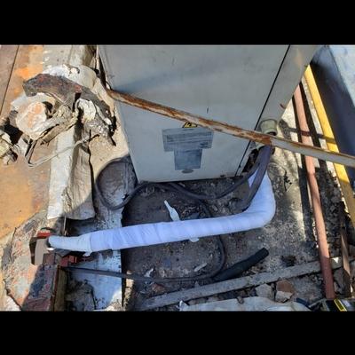 Detección de fuga, reparación,  carga y limpieza #3