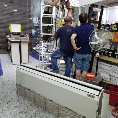 Detección de fuga, reparación,  carga y limpieza #5