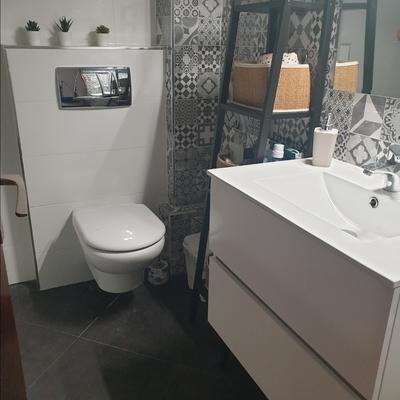 Foto del despuésde la reforma del baño