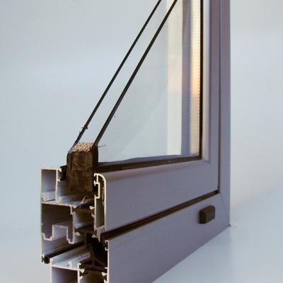 Seccion de Ventana de Aluminio RPT