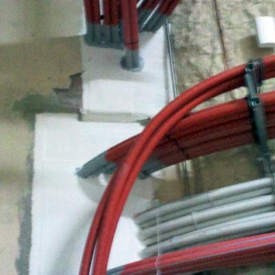 sellado de paso de instalaciones para la proteccion contra el fuego