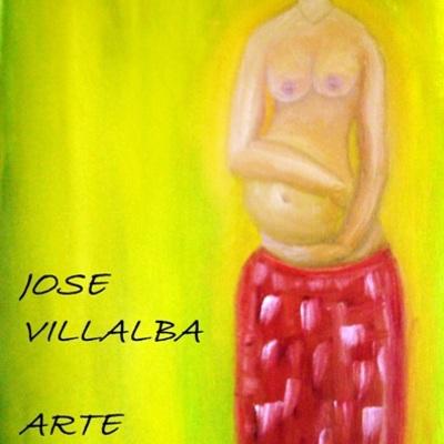 SERIE ETNICA - JOSE VILLALBA - PINTURA AL OLEO