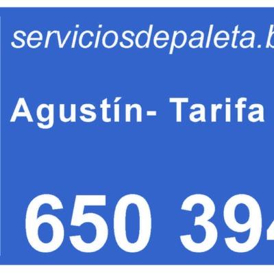 Servicios de paleta tarifa plana  18€/h