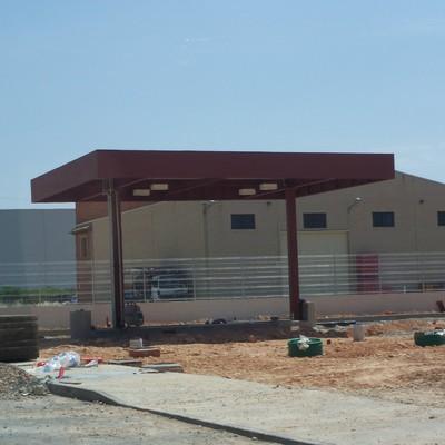Estación de Servicio Privada para Vehículos de Transporte Pesado