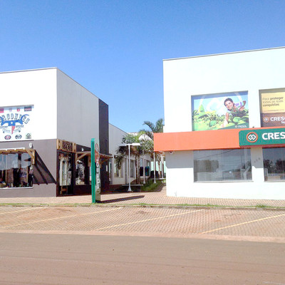 Construcción de Centro Comercial