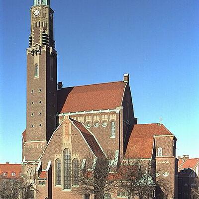 Iglesia de Engelbrekt en Estocolmo Suecia