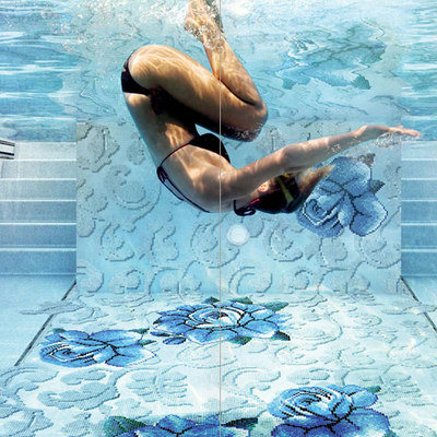 Revestimiento piscina con gresite