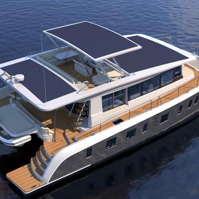 Paneles flexibles para barcos