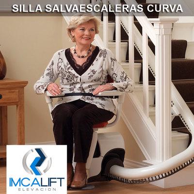 Silla Salvaescaleras Curva - Silla sube escaleras para tramos curvos