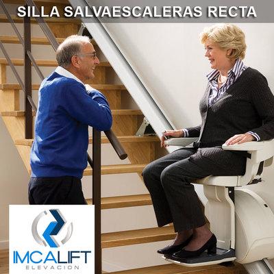 Silla Salvaescaleras Recta - Silla sube escaleras para tramos rectos